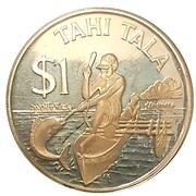 1 Tala - Elizabeth II (2nd Portrait; Silver Proof Issue) – reverse