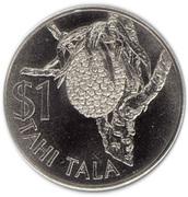 1 Tala - Elizabeth II (2nd portrait) – reverse