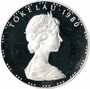 1 Tala - Elizabeth II (2nd portrait; Silver Proof Issue) – obverse