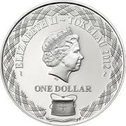 1 Dollar - Elizabeth II (Red-tailed Tropicbird) – obverse
