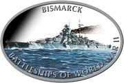 1 Dollar - Elizabeth II (Bismarck) – reverse