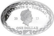 1 Dollar - Elizabeth II (Richelieu) – obverse