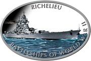 1 Dollar - Elizabeth II (Richelieu) – reverse