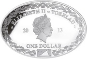 1 Dollar - Elizabeth II (Yamato) – obverse