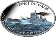 1 Dollar - Elizabeth II (Prince of Wales) – reverse