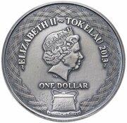 1 Dollar - Elizabeth II (Asian Tiger) – obverse