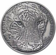 1 Dollar - Elizabeth II (Asian Tiger) – reverse