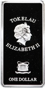 1 Dollar - Elizabeth II (The Last Judgement: 3/3) – obverse