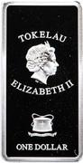 1 Dollar - Elizabeth II (The Last Judgement: 1/3) – obverse