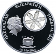 1 Dollar - Elizabeth II (Polar Bear) – obverse