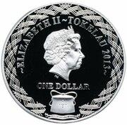 1 Dollar - Elizabeth II (The Man from Snowy River) – obverse
