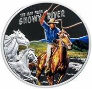 1 Dollar - Elizabeth II (The Man from Snowy River) – reverse