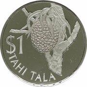 1 Tala - Elizabeth II (Breadfruit) – reverse