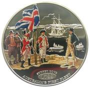 1 Dollar - Elizabeth II (Sydney Cove) – reverse