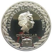 1 Dollar - Elizabeth II (Departure) – obverse