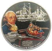 1 Dollar - Elizabeth II (Departure) – reverse