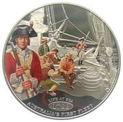 1 Dollar - Elizabeth II (Life at Sea) – reverse