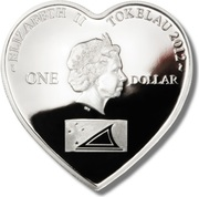1 Dollar - Elizabeth II (True Love) – obverse