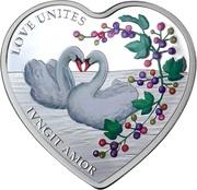 1 Dollar - Elizabeth II (Love Unites) – reverse