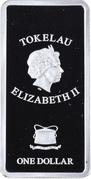 1 Dollar - Elizabeth II (The Dresden Triptych: 3/3) – obverse