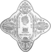 1 Dollar - Elizabeth II (Lady of Fortune) – obverse