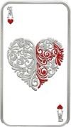 1 Dollar - Elizabeth II (Hearts) – reverse