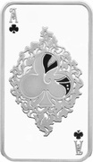 1 Dollar - Elizabeth II (Clubs) – reverse