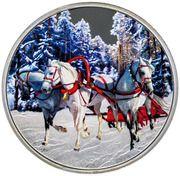 1 Dollar - Elizabeth II (Troika) – reverse