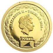 1 Dollar - Elizabeth II (Apostle James) – obverse