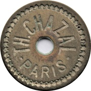 30 Centimes - Th. Chazal (Paris) – obverse
