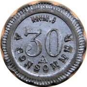 30 Centimes - A Consommer (H) – reverse