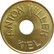Car Wash Token - Anton Willer (Kiel) – obverse