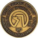 Token - Official California Medallion – obverse