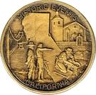 Token - Official California Medallion – reverse