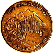 So-called-dollar - Casa Grande, Arizona – obverse