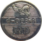 Token - Reader's Digest (RD 1-06311; Copper-nickel) – obverse