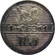 Token - Reader's Digest (RD 1-06311; Copper-nickel) – reverse