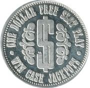 1 Dollar - Howard Johnson's (Las Vegas, Nev) – reverse
