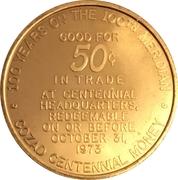 50 Cents - Cozad, Nebraska (Centennial) – reverse
