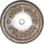 100 Réis - João Gomes Ornellas – reverse