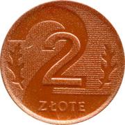 2 Złote (Play Money) – reverse
