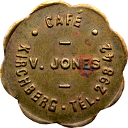 Token - Café V. Jones (Kirchberg) – obverse
