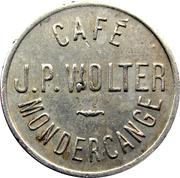 Token - Café Wolter (Mondercange) – obverse