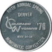 Token - Numismatic Convention (Denver) – reverse
