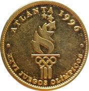 Token - Atlanta 1996 - XXVI Olympic Games – reverse