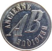 Token - Ancienne Belgique (Lotto Belgique) – reverse