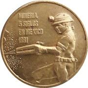 Token - Mineria 5 siglos en Mexico – obverse