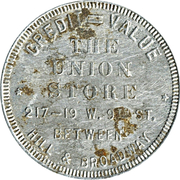 2 Dollars - Union Store – obverse