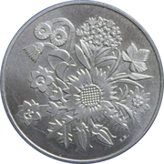 Medallion - 100 Year anniversary of the Swiss National Bank – reverse