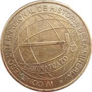 Token - IV International Congress of Mining History (Guanajuato) – obverse